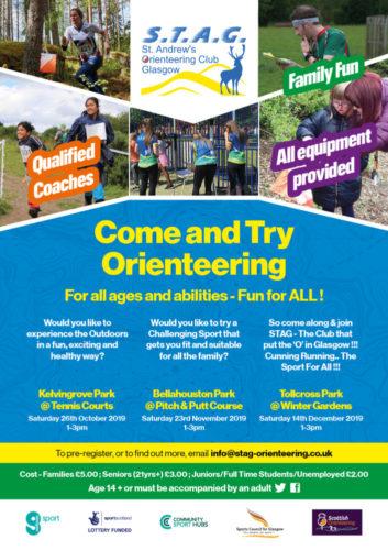 STAG Orienteering CAPI Flyer