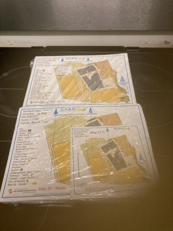 Turnbull HS's 600 maps